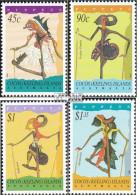 Kokos-Inseln 325-328 (kompl.Ausg.) Postfrisch 1994 Stabpuppen - Cocos (Keeling) Islands
