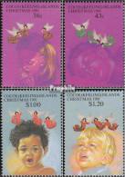 Kokos-Inseln 252-255 (kompl.Ausg.) Postfrisch 1991 Weihnachten - Cocos (Keeling) Islands
