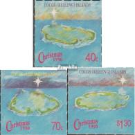 Kokos-Inseln 237-239 (kompl.Ausg.) Postfrisch 1990 Weihnachten - Kokosinseln (Keeling Islands)