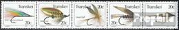 Südafrika - Transkei 132-136 Fünferstreifen (kompl.Ausg.) Postfrisch 1984 Angelhaken - Transkei
