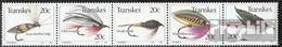 Südafrika - Transkei 115-119 Fünferstreifen (kompl.Ausg.) Postfrisch 1983 Angelhaken - Transkei