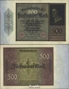 Deutsches Reich Rosenbg: 70 Gebraucht (III) 1922 500 Mark - [ 3] 1918-1933 : Weimar Republic