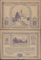 Zwettl Notgeld Der Gemeinde Zwettl Bankfrisch 1920 10 Heller - Austria
