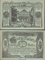Waldburg Notgeld Der Gemeinde Waldburg Bankfrisch 1920 50 Heller - Oesterreich