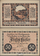Neuhofen Notgeld Der Gemeinde Neuhofen Bankfrisch 1920 50 Heller - Oesterreich