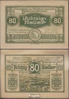 Kremsmünster Notgeld Der Stadt Kremsmünster Bankfrisch 1920 80 Heller - Oesterreich