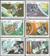 Kuba 2844-2849 (kompl.Ausg.) Postfrisch 1984 10 Jahre Bemannte Raumfahrt - Cuba