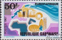 Gabun 282 (kompl.Ausg.) Postfrisch 1967 Europafrique - Gabun (1960-...)