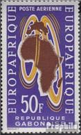 Gabun 191 (kompl.Ausg.) Postfrisch 1963 Europafrique - Gabun (1960-...)