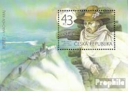 Tschechien Block41 (kompl.Ausg.) Postfrisch 2010 Macha - Tschechische Republik