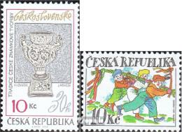 Tschechien 618,623 (kompl.Ausg.) Postfrisch 2010 Philatelie, Ostern - Tschechische Republik