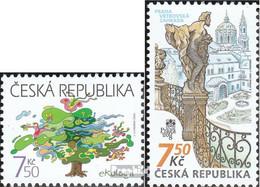 Tschechien 488,491 (kompl.Ausg.) Postfrisch 2006 Ökologie, PRAGA - Tschechische Republik