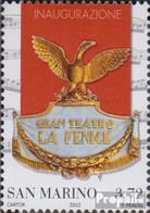 San Marino 2119 (kompl.Ausg.) Postfrisch 2003 Theaterwappen - Unused Stamps