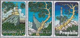 San Marino 2027-2029 Dreierstreifen (kompl.Ausg.) Postfrisch 2002 Jahr Der Berge - Unused Stamps