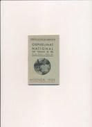 Agenda Orphelinat National Des Chemins De Fer 1939 ( Avernes ) Format 7,5 X 11,5 Cm - Railway