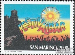 San Marino 1662 (kompl.Ausg.) Postfrisch 1996 Festivalbar - Unused Stamps