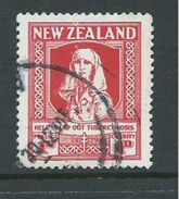 New Zealand 1929 Health Charity ' Tuberculosis ' 1d FU Cds - Unclassified