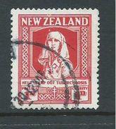New Zealand 1929 Health Charity ' Tuberculosis ' 1d FU Cds - New Zealand