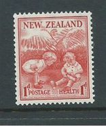 New Zealand 1938 Health Charity Issue 1d Children Playing MNH - Unclassified