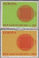 San Marino 955-956 (kompl.Ausg.) Postfrisch 1970 Europa - Ungebraucht