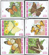 Kap Verde 467-472 (kompl.Ausg.) Postfrisch 1982 Schmetterlinge - Kap Verde