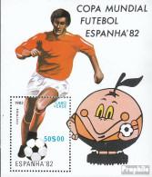 Kap Verde Block5 (kompl.Ausg.) Postfrisch 1982 Fußball-WM 1982 In Spanien - Kap Verde