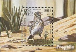 Kap Verde Block4 (kompl.Ausg.) Postfrisch 1981 Vögel - Kap Verde