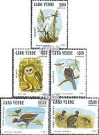 Kap Verde 445-449 (kompl.Ausg.) Postfrisch 1981 Vögel - Kap Verde
