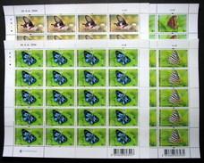 Thailand Stamp FS 2001 Butterflies 4th Series - Thailand