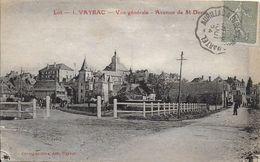 46 )  VAYRAC  - Vue Générale Avenue De Saint Denis - Vayrac
