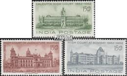 Indien 342-344 (kompl.Ausg.) Postfrisch 1962 Gericht - India