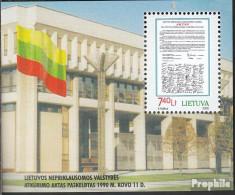 Litauen Block18 (kompl.Ausg.) Postfrisch 2000 Unabhängigkeit - Lithuania