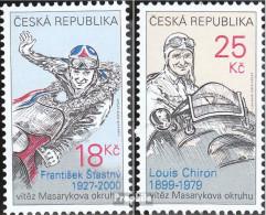 Tschechien 742-743 (kompl.Ausg.) Postfrisch 2012 Sieger - Tschechische Republik