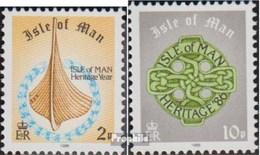 GB - Insel Man 311-312 (kompl.Ausg.) Gestempelt 1986 Freimarken - Isola Di Man