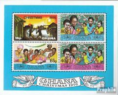 Ghana Block67 (kompl.Ausg.) Postfrisch 1976 Weihnachten - Ghana (1957-...)