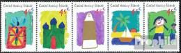 Kokos-Inseln 362-366 Fünferstreifen (kompl.Ausg.) Postfrisch 1998 Hari-Raya - Kokosinseln (Keeling Islands)