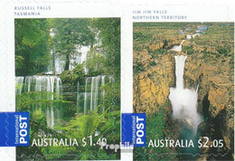 Australien 3081BA-3082BA (kompl.Ausg.) Postfrisch 2008 Wasserfälle - Mint Stamps