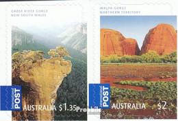 Australien 2939BA-2940BA (kompl.Ausg.) Postfrisch 2008 Täler - Mint Stamps