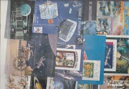 Motive Briefmarken-25 Verschiedene Weltraum Blöcke - Collections