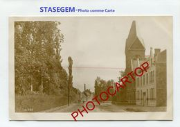 STASEGEM-Photo Allemande-GUERRE 14-18-1 WK-BELGIEN-BELGIQUE-Comme Une CP Sans Dos- - Harelbeke