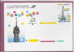 CARTEPOSTE PARIS 1989 - Entiers Postaux