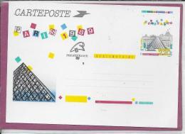 CARTEPOSTE PARIS 1989 - Enteros Postales