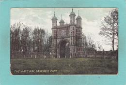 Old Postcard Of The Gateway,Eastwell Park,Ashford, Kent,England. United Kingdom,,Posted.V41. - England