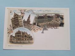 """"""" Manneken Pis """" ( A. Laoureux & R. De Vuyst ) Anno 2000 ( Zie Foto Details ) Copy Anvers ! - Bourses & Salons De Collections"""
