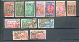 CAM 394 - YT 134 à 141 / 143-145-146-148 ° Obli - Kamerun (1915-1959)