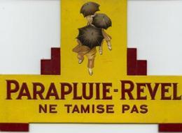 """Publicité Cartonnée """"PARAPLUIE REVEL"""" - Paperboard Signs"""