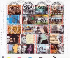 Belgium BL 087  Guerre & Paix Et Art  1er Jour +  Faciale - Blocs 1962-....