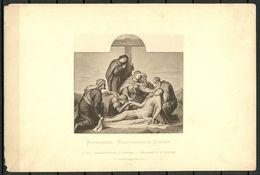 Kunst Art Rotermund Kreuzabnahme Christi Dresdner Galerie Zeichnung Nach Original No 48 - Non Classés