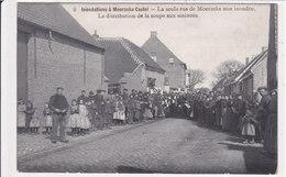 Moerzeke, Castel, La Seule Rue Non Inondée, 2 Scans - Unclassified
