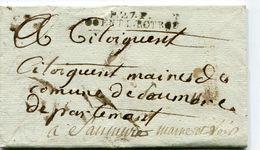EURE ET LOIR De NOGENT LE ROTROU Linéaire De Port Payé 48x7 Sur LAC Non Datée + Verso Taxe De 3 - 1801-1848: Précurseurs XIX